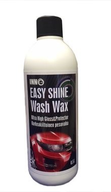 Korkeakiiltoinen pesuvaha, 500ml - Easy Shine Wash Wax