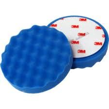Viimeistelylaikka, 150mm - 3M Car Care Blue High Gloss Polishing Pad