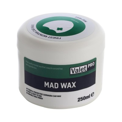Carnaubavaha, 250ml - Valetpro Mad Wax
